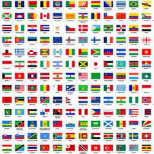 flags all countries vector design resources flags