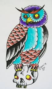 old owl tattoo design www craigylee com www faceboo u2026 flickr