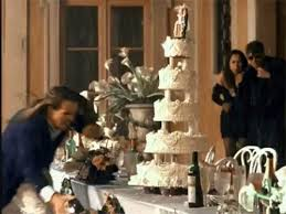 wedding cake gif why did that jump into the cake in the november