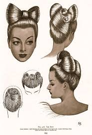 112 best vintage coiffures images on pinterest hairstyles