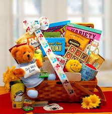 get better care package this has everything your best friend could possibly need to
