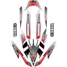 yamaha emblem dean u0027s team yamaha fz waverunner decal wrap kit u0027paloma u0027 dean u0027s team