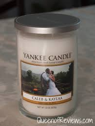 personalized candle personalized candles from yankee candle