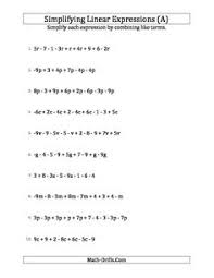 new september 18 2012 algebra worksheet using the