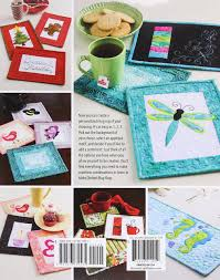 Quilted Rugs Learn To Make Quilted Mug Rugs Annie U0027s Quilting Carolyn Vagts