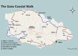 Malta World Map Books Walks U0026 Maps Walking In Malta And Gozo