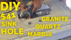 how to cut granite for sink 41 diy how to cut a sink hole in granite marble or engineered