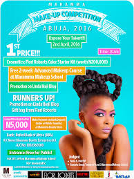 online make up school marammabeauty makeup competition win a n200 000 flori