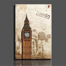best quality sell big ben modern home wall decor canvas art hd