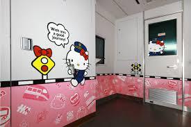 hello kitty express train rolls in taiwan cnn travel