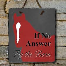 Horse Decor For The Home Try The Barn Equestrian Slate Wall Sign The Painting Pony Home