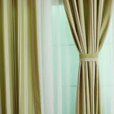 Green Striped Curtains Cool Green Striped Curtains And And Modern Striped Curtains In Bud