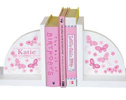 personalized bookends baby personalized bookend etsy
