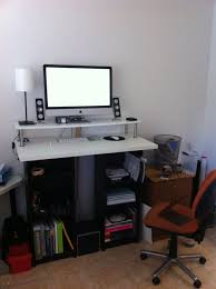 Standing Height Desk Ikea Standing Office Desk Ikea Design Decoration