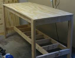 How To Build A Bench Vise Best 25 Garage Workbench Ideas On Pinterest Workbench Ideas