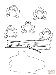 coloring pages printable frogs free printable tree frog coloring