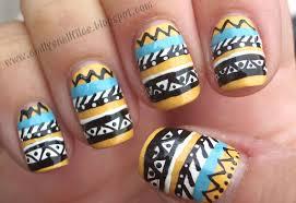 tribal nail art design image collections nail art designs