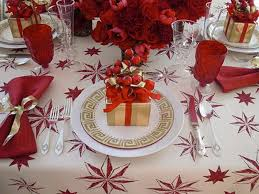 White Christmas Dinner Ideas by New Ideas Gold And White Christmas Table Decorations With Luxury