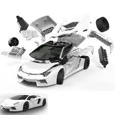 car models lamborghini airfix quickbuild lamborghini aventador colour car model kit