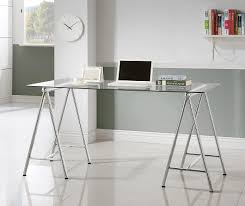 Retail Desk Desks Writing Desk With Tempered Glass Top 800804