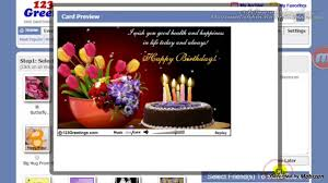 how to send greeting card with facebook friends youtube