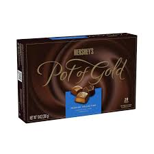 amazon com hershey u0027s pot of gold milk and dark chocolate