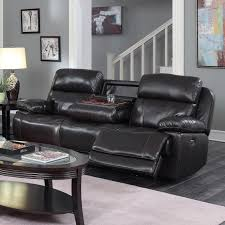 Power Sofa Recliners Leather by Happy Leather Company 1397 Power Sofa With Drop Down Table Royal