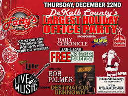 office party flyer fatty u0027s annual holiday office party thursday dekalb county online