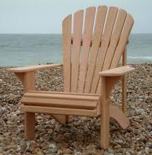 Western Red Cedar Outdoor Furniture by Classic Adirondack Chair Western Red Cedar