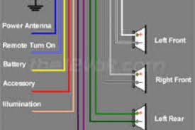 clarion car stereo wiring diagram wiring diagram