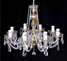 Maria Theresa 6 Light Crystal Chandelier Maria Theresa Crystal Chandelier Brass U0026 Strass Chandeliers