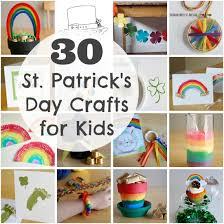 30 st patrick u0027s day crafts for kids make and takes