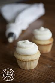 vanilla bean cupcakes with vanilla cream cheese frosting get