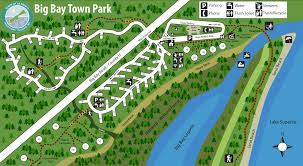 Wisconsin Campgrounds Map by Big Bay Town Park Madeline Island