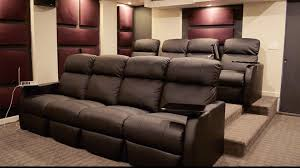 home theater riser platform ultimate home theater tour youtube