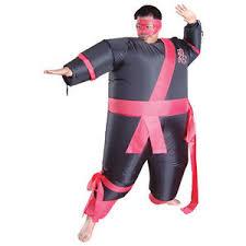 Fat Suit Halloween Costume Halloween Inflatable Fat Ninja Air Blown Costume Warrior