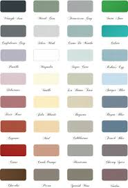 color chart maison blanche paint company i so want to do