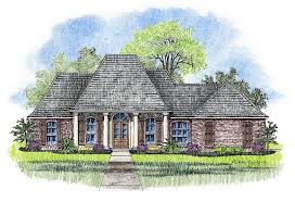 karsyn country french home plans acadian house plans
