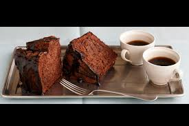 chocolate angel food cake with espresso glaze duncan hines