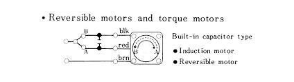reversible ac motor wiring diagram 4 wire dc motor diagram us
