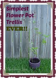 plant trellis for pots home decorating interior design bath