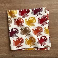 thanksgiving dinner napkins turkeys trot in autumn colors on cloth thanksgiving dinner napkins