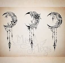 crescent moon tatoos i like crescents moon and