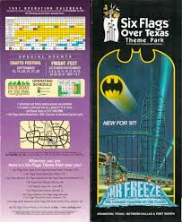 Season Pass Renewal Six Flags Newsplusnotes From The Vault Six Flags Over Texas 1997 Brochure