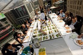 dinner in the sky photos
