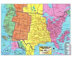 Unites States Map by Time Zone Map Of The United States Nations Online Project Us Time