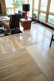 really cheap wood floors stain strand board like plywood and