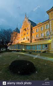 billia hotel saint vincent aosta italy stock photo royalty free