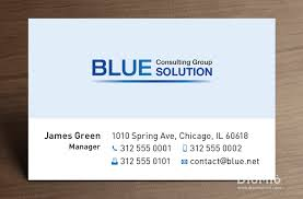 company business cards