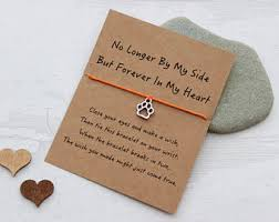 memorial gifts for loss of dog sympathy gift etsy